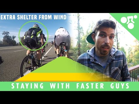 5 Cycling Tips To Staying With The Fast Group (Cycling Tips)