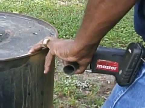 DIY burn barrel