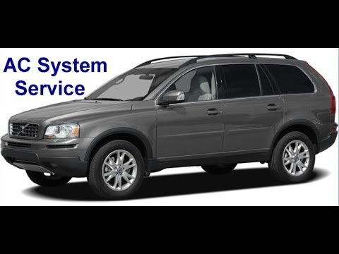 How to self service the AC system on the Volvo XC90 - VOTD