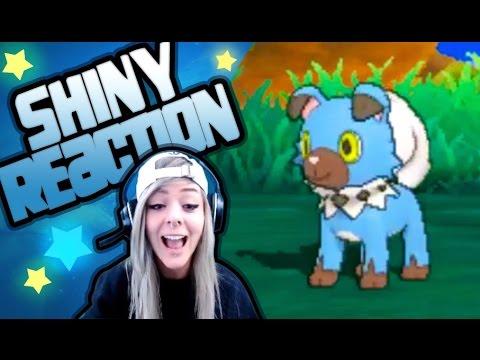 SHINY ROCKRUFF REACTION LIVE | Pokemon Sun & Moon | Stream w/ Moxillia