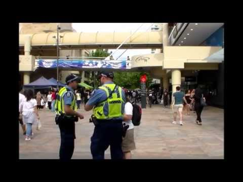 Get saved Australia! USA Missionary in Perth City Center