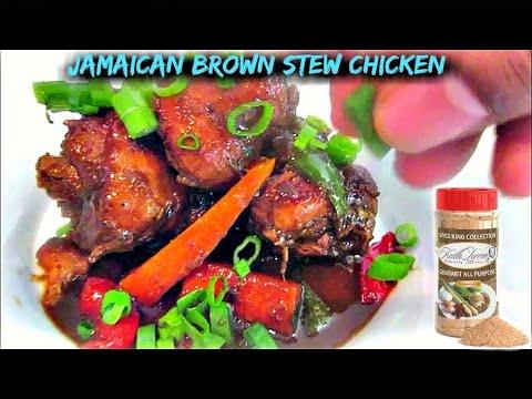 Jamaican Brown Stew Chicken by Keith Lorren