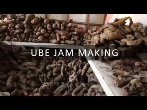 Ube Jam Making