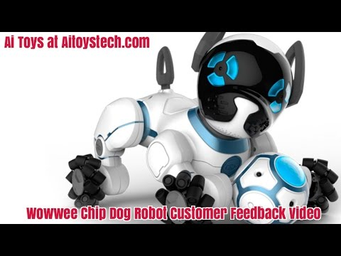 Wowwee Chip Dog Robot Customer Feedback Report