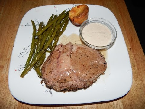 Prime Rib Recipe (Medium) - Prime Rib Roast Oven