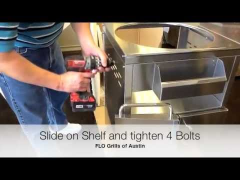 How to assemble a Kamado Joe Stainless Steel Cart
