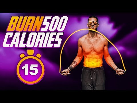 Only 15 Minutes To Burn 500 Calories!?