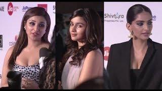 Filmfare Awards night 2018 Sonam Shahid Pariniti Alia Akshay