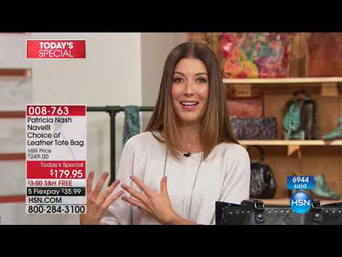 HSN   Patricia Nash Handbags 08.15.2017 - 12 PM