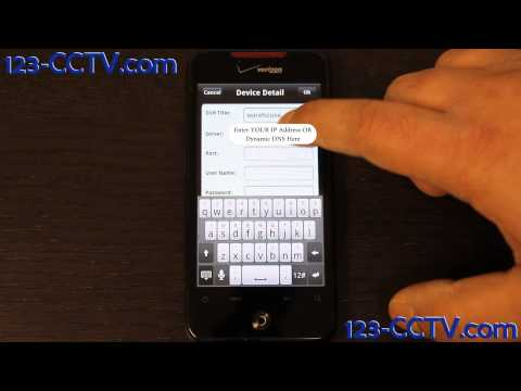 Installing the Android App for your Security DVR - 123-CCTV