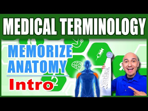 🏥 Medical Terminology Human Anatomy - How to Memorize Biology | Nursing Med Student Terms Mnemonics