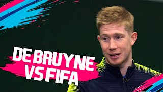 Who is the FASTEST player at Man City - Sane, Sterling or Walker? | Kevin De Bruyne vs FIFA 19