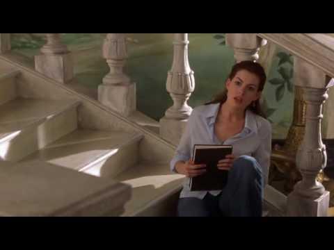 The Princess Diaries 2 - The  stairs & closet scene