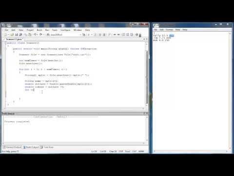 Scanner Class 3 Part 6: Reading Text Files (Java)
