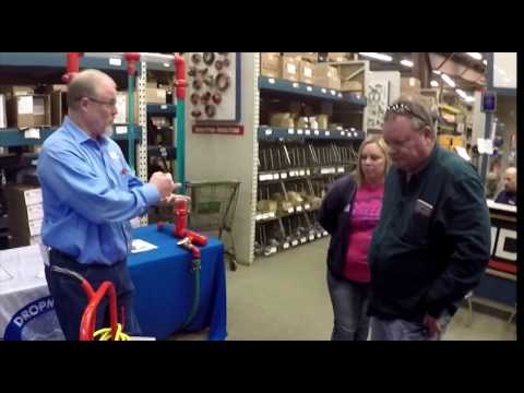 Replace Fire Sprinkler Heads without the mess!