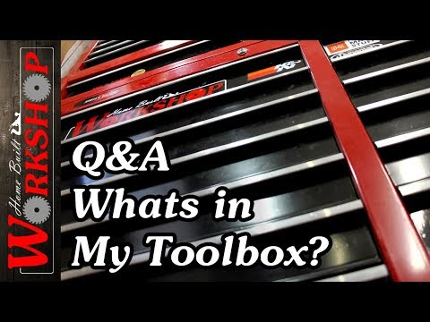 Q&A: Whats in my Toolbox?