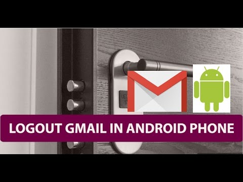 How To Logout Gmail in Android Phone