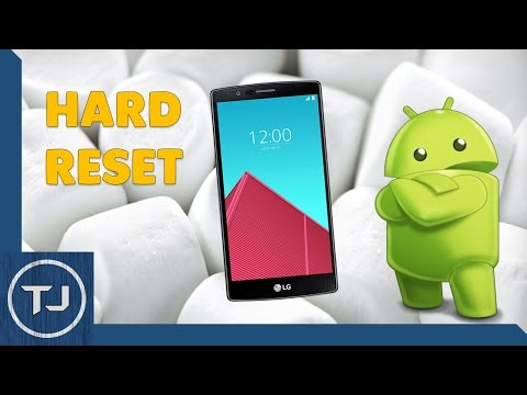 How To Hard Reset LG G4 Android Marshmallow 6.0
