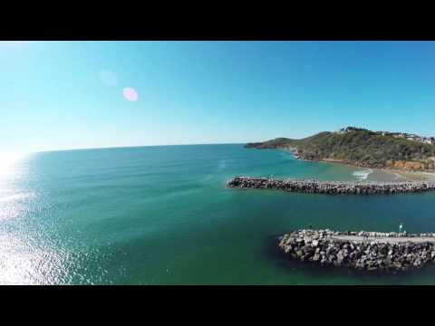 Shark footage from the MJ Visual Media drone at Evans Head, NSW, Australia.