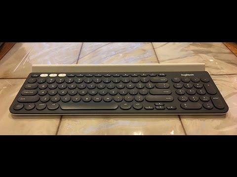 LogitechK780MultiDeviceWirelessKeyboard Unboxing