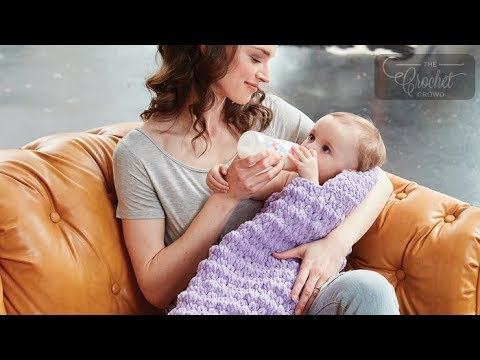 How to Crochet Baby Cocoon