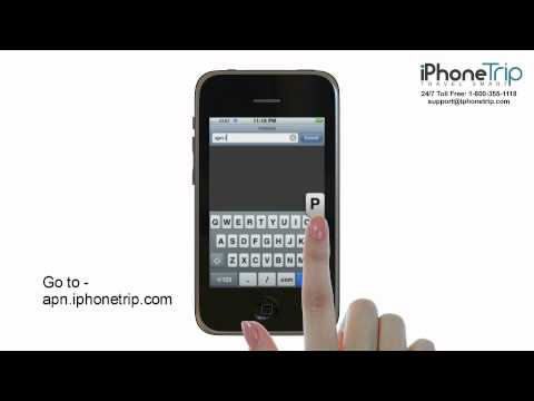 How to connect iPhone 3GS to WIFi and change APN settings