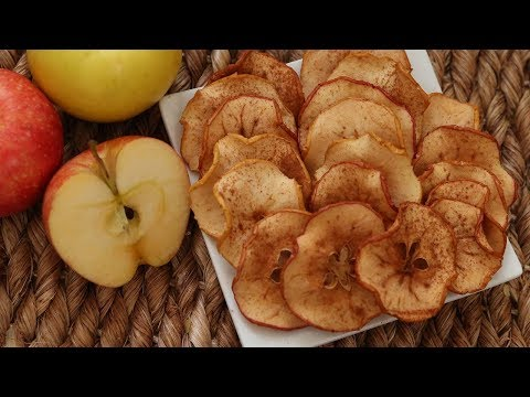 How to Make Tasty Apple Chips At Home Without Oil