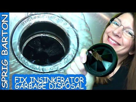 How to REPLACE GARBAGE DISPOSAL GARBAGE DISPOSER & GASKET! Insinkerator! Sprig Barton In-Sink-Erator