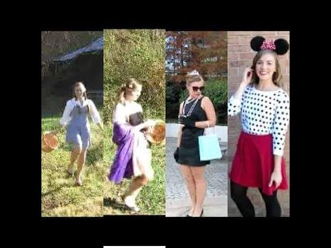 DIY Costumes! | Dorothy, Aurora, Audrey Hepburn and Minnie Mouse