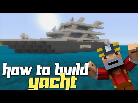 Minecraft Xbox 360: How to Build a Yacht! (Part 2)