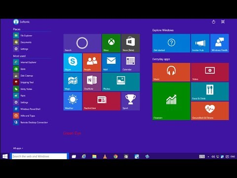Windows 10 tips -Remove Live Tiles & Resize the Start Menu in Windows 10