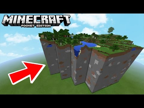 THIS GLITCH ONLY EXISTS IN MINECRAFT POCKET EDITION!!!