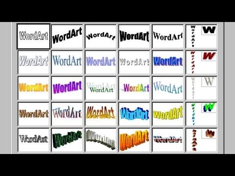 Habilitar WordArt Clásico en Word 2016