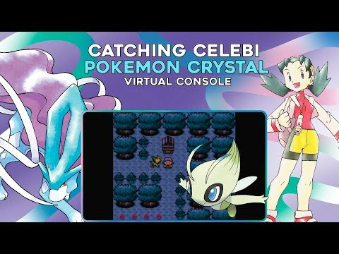 Pokemon Crystal 3DS (VC): Catching CELEBI using the GS BALL