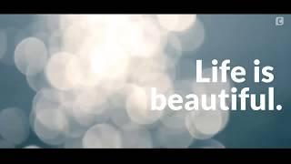 Life is beautiful. - Short film ☑️
