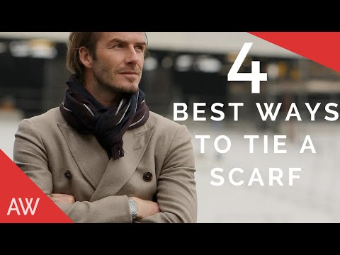How To Tie Scarves For Men - Men's Style Quick Tips
