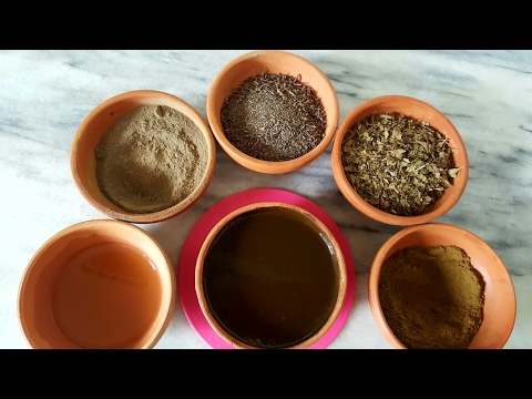 NATURAL HAIR DYE WITH  HENNA &WASMA (Neel/Indian indigo/black henna )