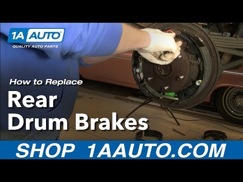 How to Install Replace Rear Drum Brakes Chevy GMC Pickup Tahoe Suburban 92-99 1AAuto.com