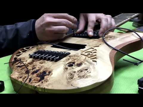 OD Guitars - Building guitars - in the making time lapse