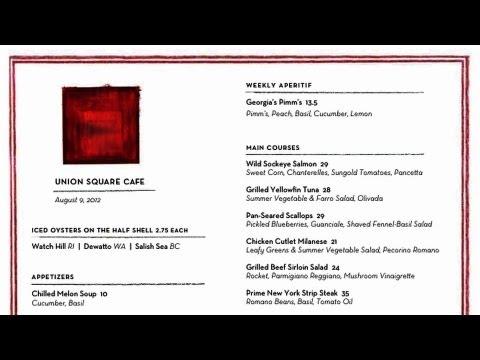 How to Plan a Menu | Restaurant Business