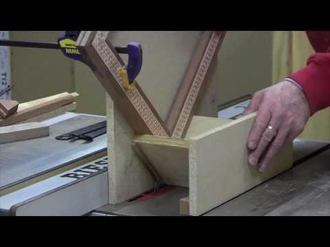 Woodworking - Spline Miter Joint Basics