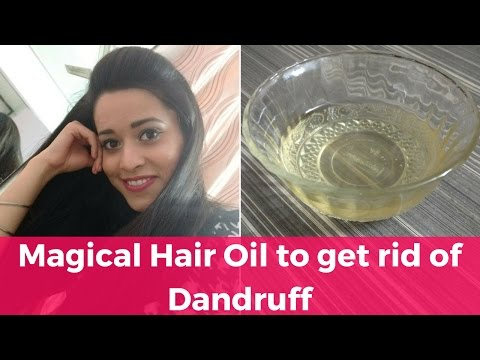 How to get rid of DANDRUFF   DIY Hair Oil for Dandruff   Just another girl