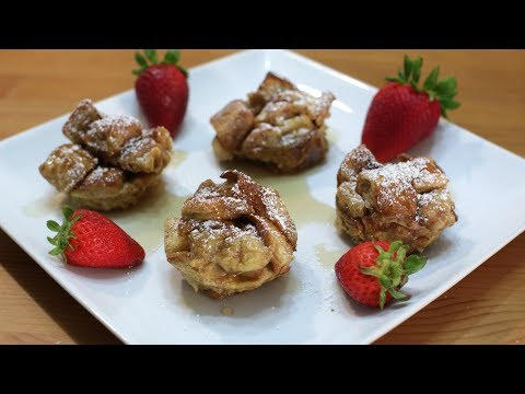 How to Make French Toast Bites or Muffins | Easy French Toast Recipe
