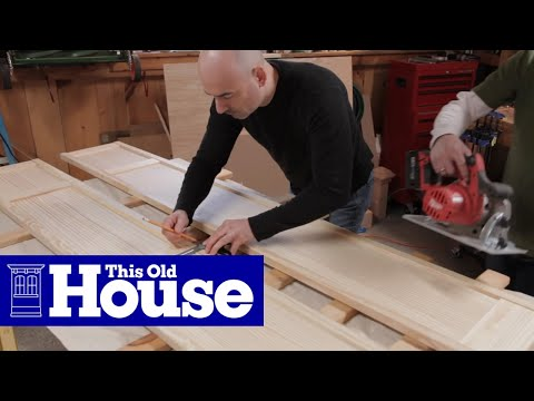 How to Build a Wall-Hung TV Cabinet - This Old House