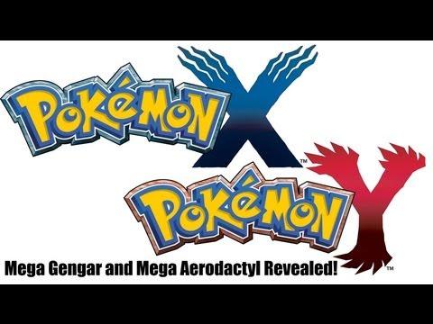 Pokemon X and Pokemon Y Mega Gengar and Mega Aerodactyl Leaked!
