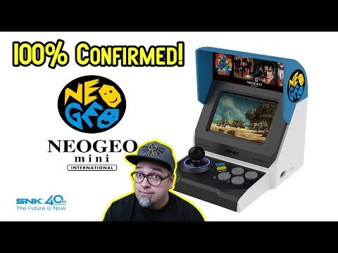 Official Confirmation! SNK Neo Geo Mini USA & Japanese Versions Press Release!