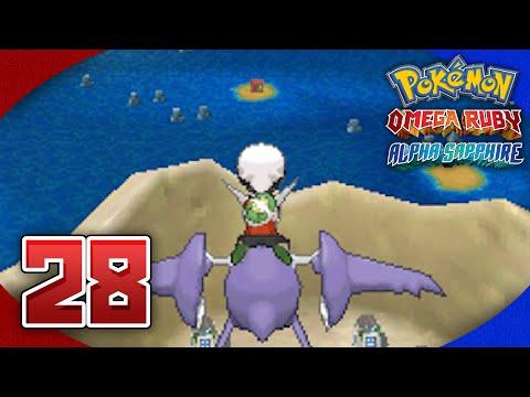 Pokémon Omega Ruby and Alpha Sapphire Walkthrough - Part 28: Flying on Mega Latios and Heracronite