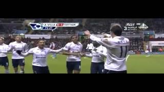 Full HD aston villa vs tottenham 0 4 26 12 2012 goals & highlights