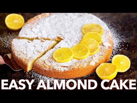 Easy Almond Cake Recipe (Gluten Free Cake)