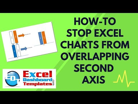 How-to Stop Excel Charts from Overlapping Second Axis Columns or Bars